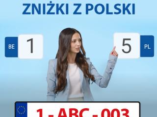 WAŻNE ZNIŻKI Z POLSKI | POLISA.BE